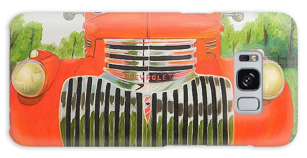 1946 Red Chevy Truck Galaxy Case