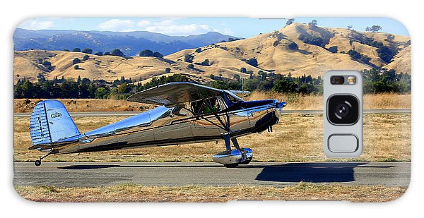 Galaxy Case featuring the photograph 1947 Cessna 140 Taxiing N4151n by John King