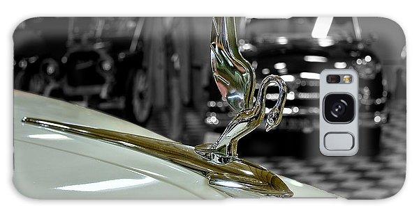 1947 Packard Hood Ornimate Galaxy Case by Michael Gordon