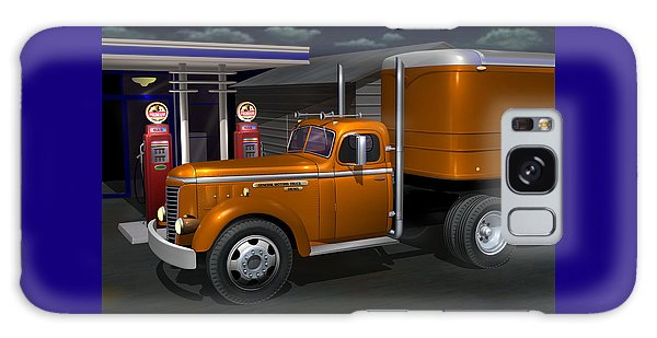 Semis Galaxy Case - 1948 Gmc Diesel by Stuart Swartz