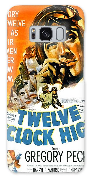 Roger Dean Galaxy Case - 1949 - Twelve O Clock High Movie Poster - Gregory Peck - Dean Jagger - 20th Century Pictures - Color by John Madison