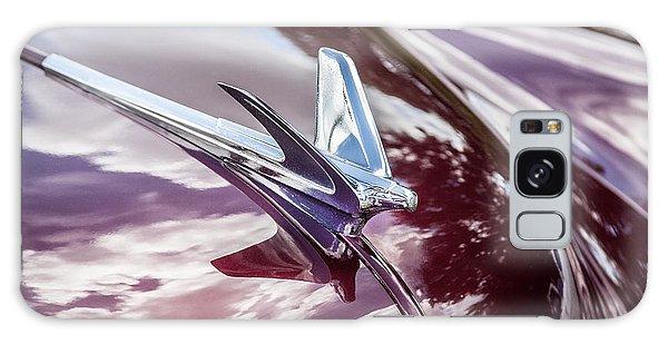 Dual Exhaust Galaxy Case - 1950 Chevrolet Hood Ornament by Rich Franco