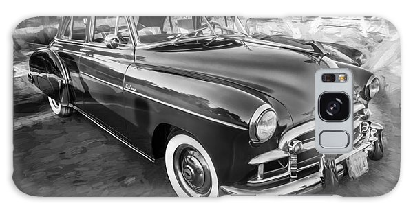 Dual Exhaust Galaxy Case - 1950 Chevrolet Sedan Deluxe Painted Bw   by Rich Franco