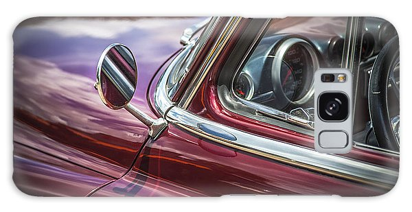 Dual Exhaust Galaxy Case - 1950 Chevrolet Side View Mirror by Rich Franco