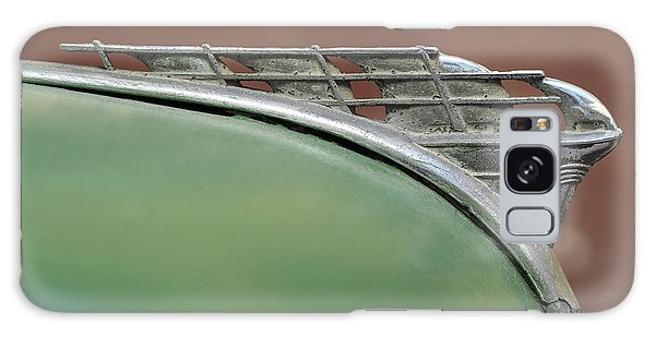 1950 Plymouth Hood Ornament - Image Art By Jo Ann Tomaselli Galaxy Case
