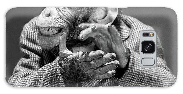 Traits Galaxy Case - 1950s 1960s Monkey Chimp Chimpanzee by Vintage Images