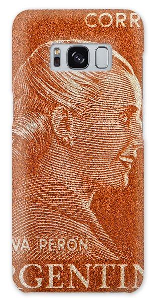 1952 Eva Peron Argentina Stamp Galaxy Case