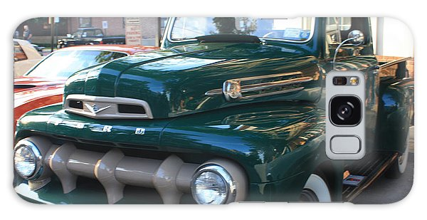 1952  Ford Pick Up Truck Front And Side View Galaxy Case by John Telfer