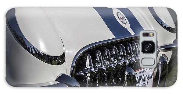 1953 Nascar Corvette Galaxy Case by Dennis Hedberg