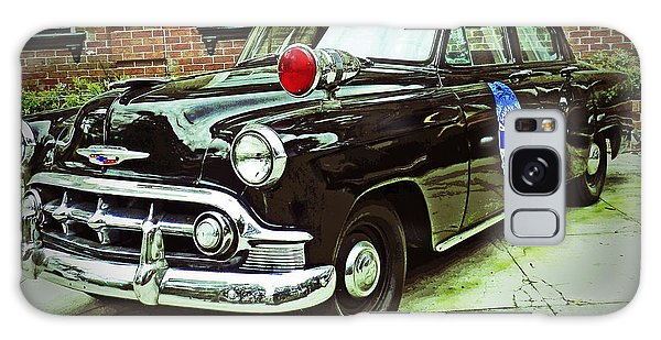 1953 Police Car Galaxy Case by Patricia Greer