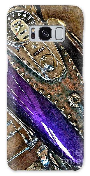 1953 Purple Harley Panhead Galaxy Case