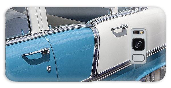 Dual Exhaust Galaxy Case - 1955 Chevrolet 4 Door by Rich Franco