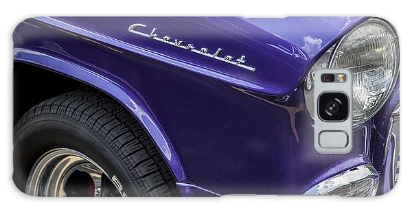 Dual Exhaust Galaxy Case - 1955 Chevrolet Purple Monster by Rich Franco