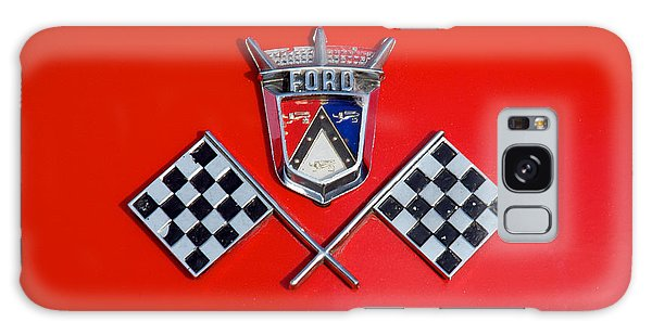 1955 Ford T-bird Logo Galaxy Case