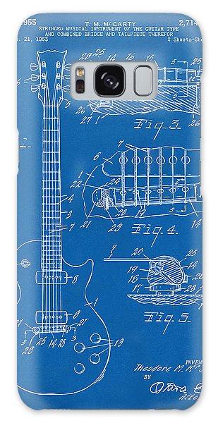 1955 Mccarty Gibson Les Paul Guitar Patent Artwork Blueprint Galaxy Case