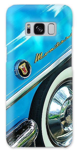 Monterey Galaxy Case - 1955 Mercury Monterey Wheel Emblem by Jill Reger