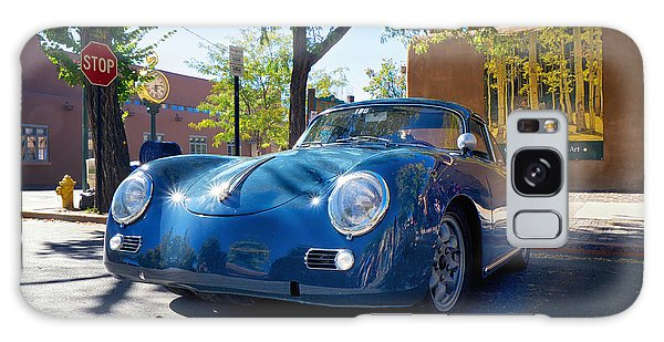 1956 356 A Sunroof Coupe Porsche Galaxy Case by Mary Lee Dereske