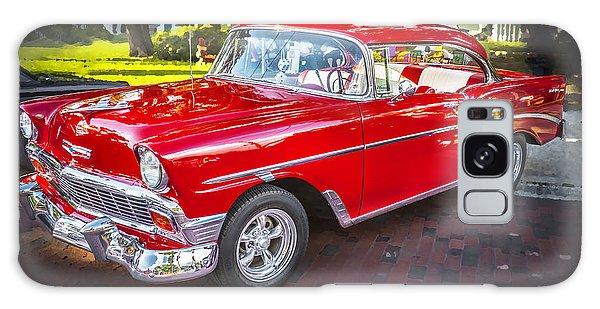Dual Exhaust Galaxy Case - 1956 Chevrolet 210 Bel Air by Rich Franco