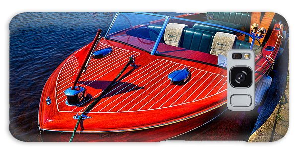1956 Chris-craft Capri Classic Runabout Galaxy Case by David Patterson
