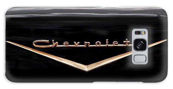 Dual Exhaust Galaxy Case - 1957 Chevrolet Emblem by Rich Franco