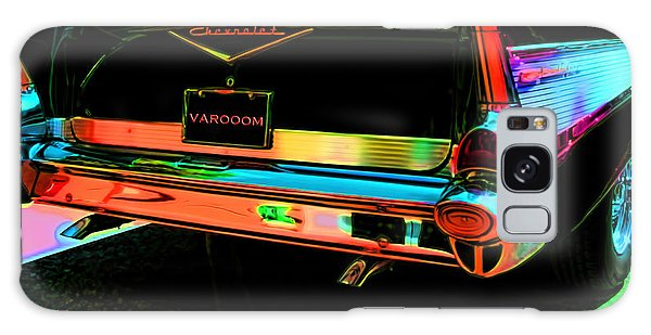 1957 Chevy Art Red Varooom Galaxy Case