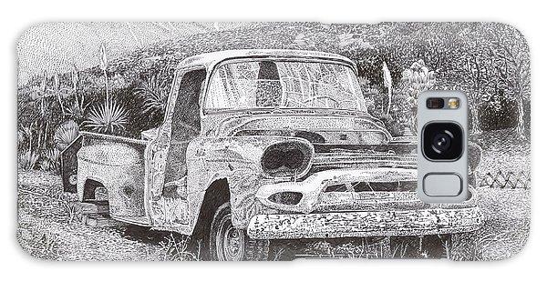 Old Truck Galaxy Case -  Ran When Parked by Jack Pumphrey