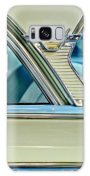 Monterey Galaxy Case - 1957 Mercury Monterey Sedan Emblem by Jill Reger