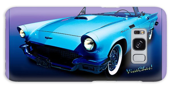 1957 Thunderbird Poster Galaxy Case