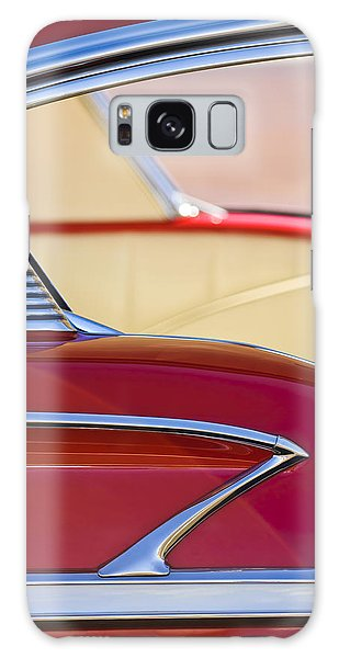 Galaxy Case featuring the photograph 1958 Chevrolet Belair Abstract by Jill Reger
