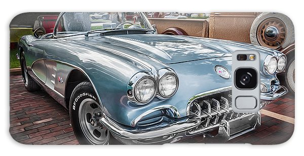 1958 Chevy Corvette Painted Galaxy Case