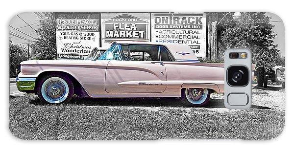 Dual Exhaust Galaxy Case - 1960 Thunderbird Bw by Steve Harrington