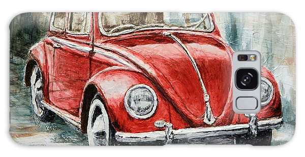 1960 Volkswagen Beetle 2 Galaxy Case by Joey Agbayani