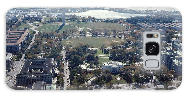 1960s Aerial View Washington Monument Galaxy Case