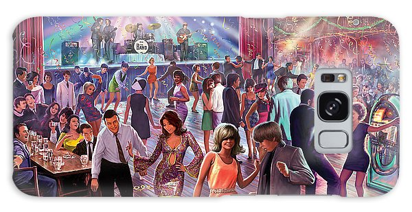 Sixties Galaxy Case - 1960's Dance Scene by MGL Meiklejohn Graphics Licensing