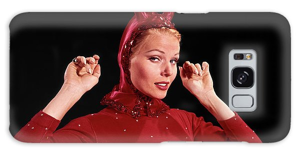 Sly Galaxy Case - 1960s Woman Red Devil Costume by Vintage Images