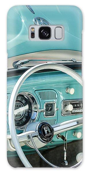 Volkswagen Galaxy Case - 1962 Volkswagen Vw Beetle Cabriolet Steering Wheel by Jill Reger