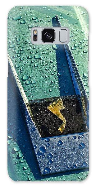 Galaxy Case featuring the photograph 1963 Studebaker Avanti Hood Ornament by Jill Reger
