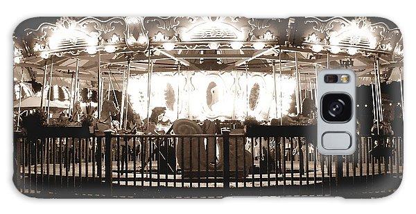 1964 Allan Herschell Carousel Galaxy Case by Debra Forand