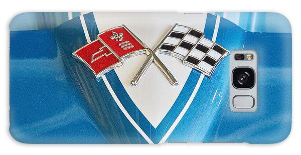 1965 Corvette Flags Emblem Galaxy Case
