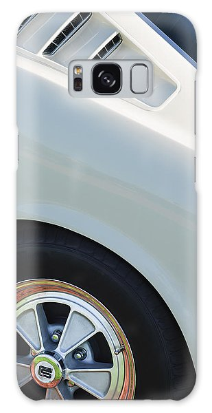 Galaxy Case featuring the photograph 1965 Shelby Mustang Gt350 Wheel Emblem by Jill Reger