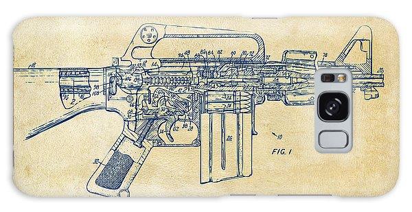 Weapons Galaxy Case - 1966 M-16 Gun Patent Vintage by Nikki Marie Smith