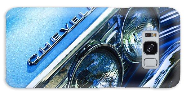 Landmark Galaxy Case - 1967 Chevrolet Chevelle Malibu Head Light Emblem by Jill Reger