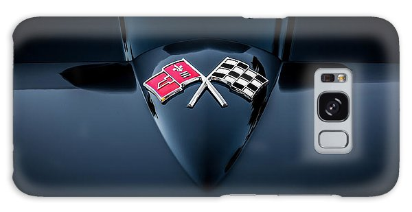 Dual Exhaust Galaxy Case - 1967 Chevrolet Corvette 427 435 Hp Painted  by Rich Franco
