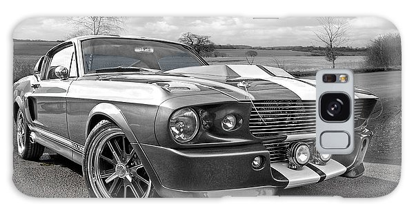 1967 Eleanor Mustang In Black And White Galaxy Case by Gill Billington