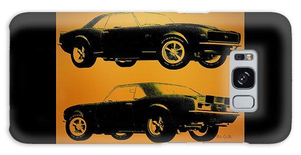 Vintage Galaxy Case - 1968 Camaro Ss Side View by Bob Orsillo