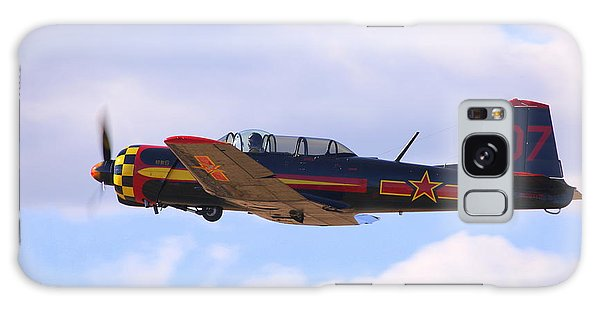 Galaxy Case featuring the photograph 1968 Nanchang Cj-6 Fly-by N221yk by John King