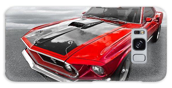 1969 Red 428 Mach 1 Cobra Jet Mustang Galaxy Case