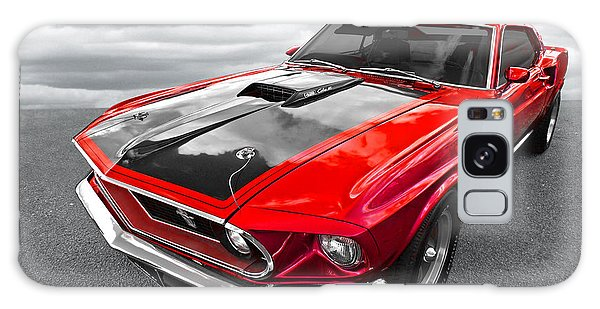1969 Red 428 Mach 1 Cobra Jet Mustang Galaxy Case