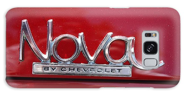 1970 Chevy Nova Logo Galaxy Case