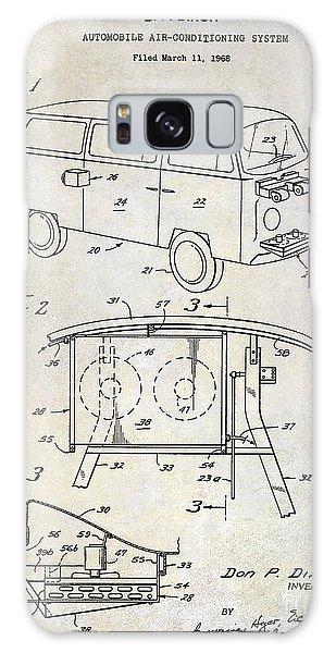 Volkswagen Galaxy Case - 1970 Vw Patent Drawing by Jon Neidert